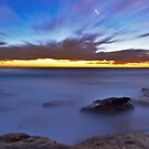 Glutinous  Rocks - Little Bay by Mark  Lucey