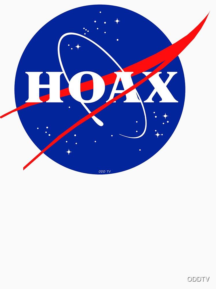 NASA Hoax Logo by ODDTV