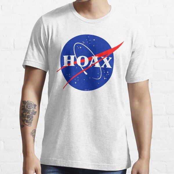 NASA Hoax Logo Essential T-Shirt