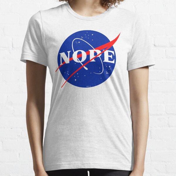 NASA Nope Logo Essential T-Shirt