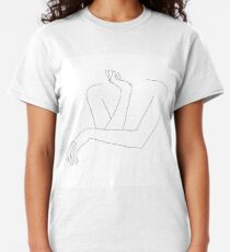 Folded arms line drawing - Anna Classic T-Shirt