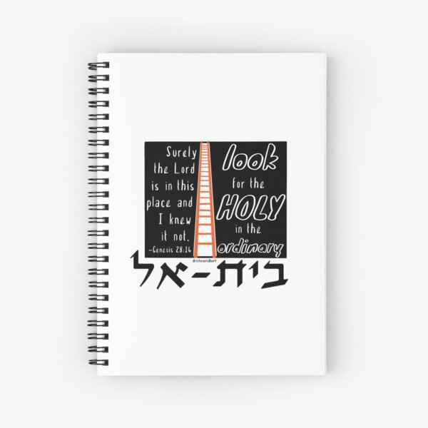 look for the Holy in the Ordinary Spiral Notebook