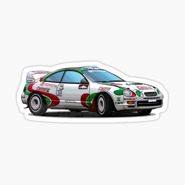 Toyota Celica ST205 Castrol WRC Sticker