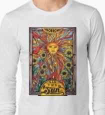 """Tarot Card Number 19 """"The Sun"""" Long Sleeve T-Shirt"""