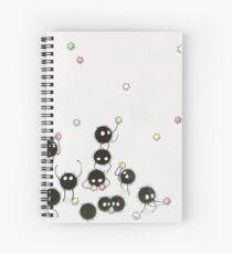 Susuwatari Spiral Notebook