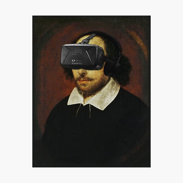 Shakespeare VR Photographic Print