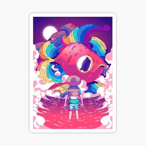 Fisherman Sticker