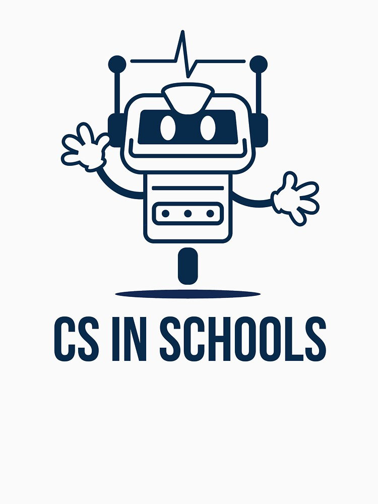 CS in Schools Robot (Dark) by kroid