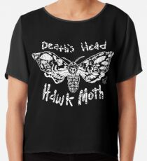 Death's Head Hawk Moth Chiffon Top