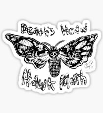 Death's Head Hawk Moth Sticker