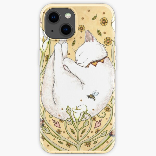 Butterflies and Bees iPhone Soft Case