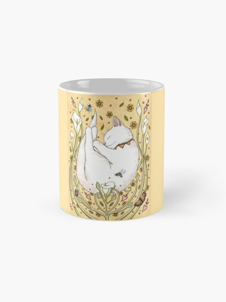 Alternate view of Butterflies and Bees Mug