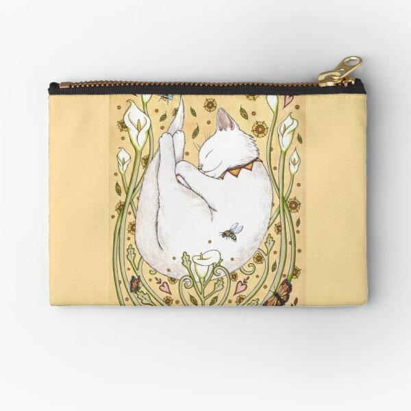 Butterflies and Bees Zipper Pouch