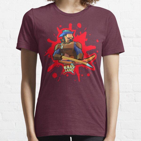 Raid.Land Hunter Red Essential T-Shirt