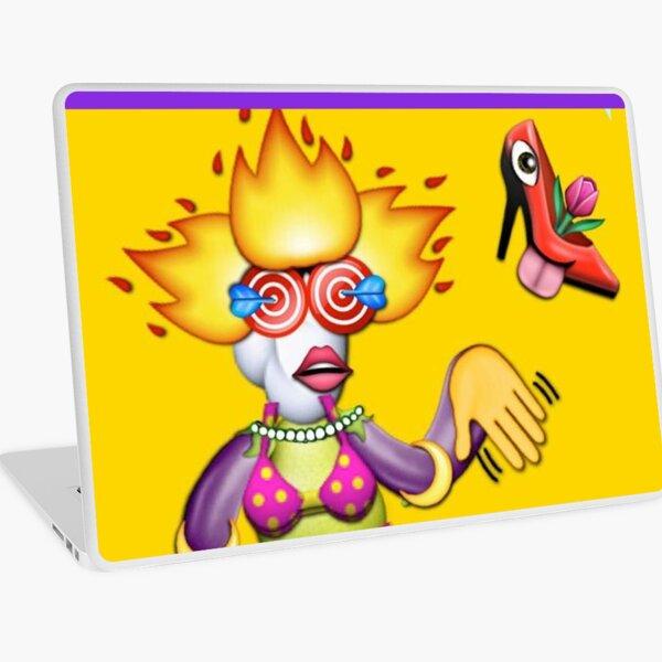 Emoji Collage #1 Laptop Skin