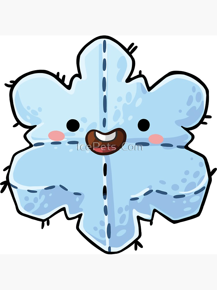 Snowflake Plushie by icepets