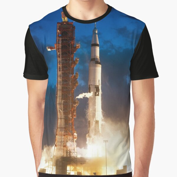 First Launch of Saturn V – Nov. 9, 1967 Graphic T-Shirt