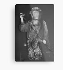 Carl McCoy-Fields of the Nephilim Metal Print
