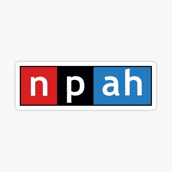 NPAH Radio Sticker - NPR Radio Sticker