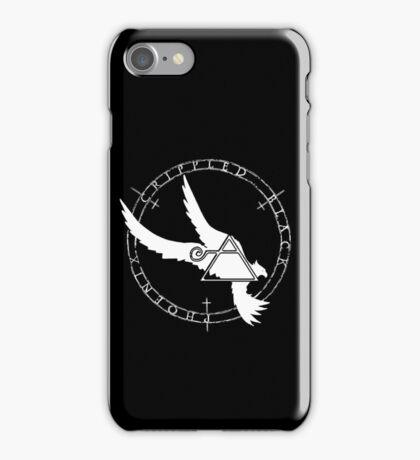Crippled Black Phoenix 2015 A.D. (White V.2) iPhone Case/Skin