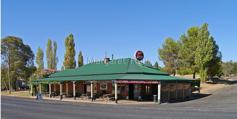 Wombat Hotel, Wombat, New South Wales, Australia by Margaret  Hyde