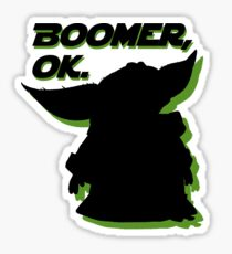 Boomer, Ok. Sticker