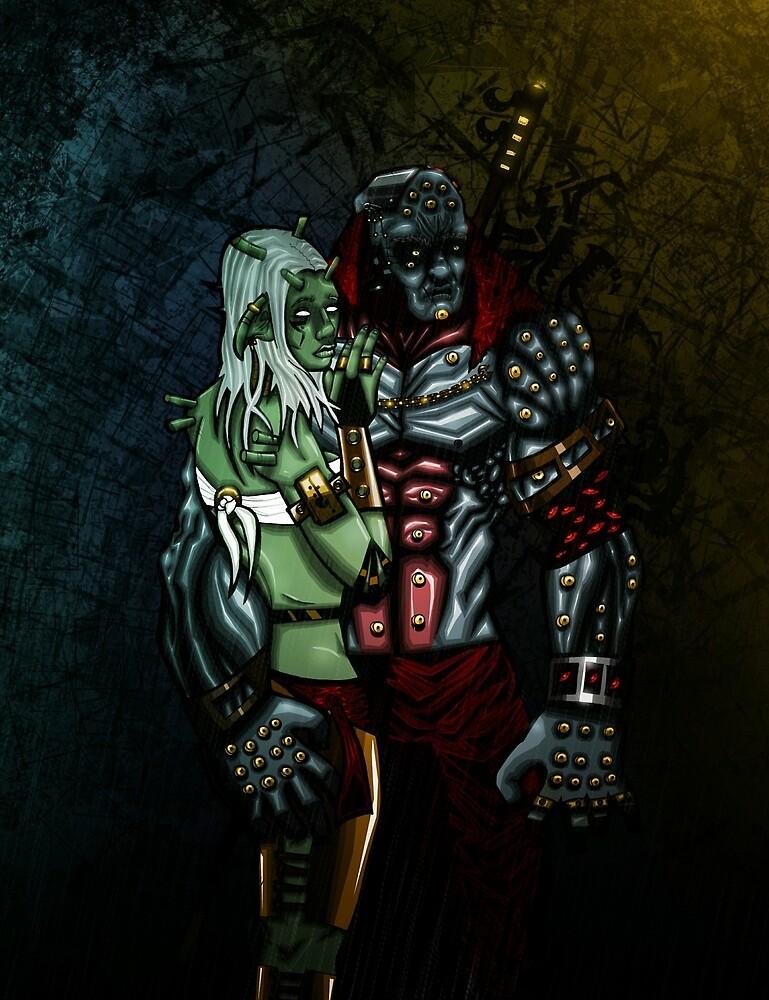 Gok and Meytun by ChaosWinter