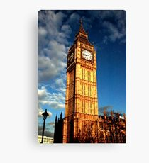 Always on time Canvas Print