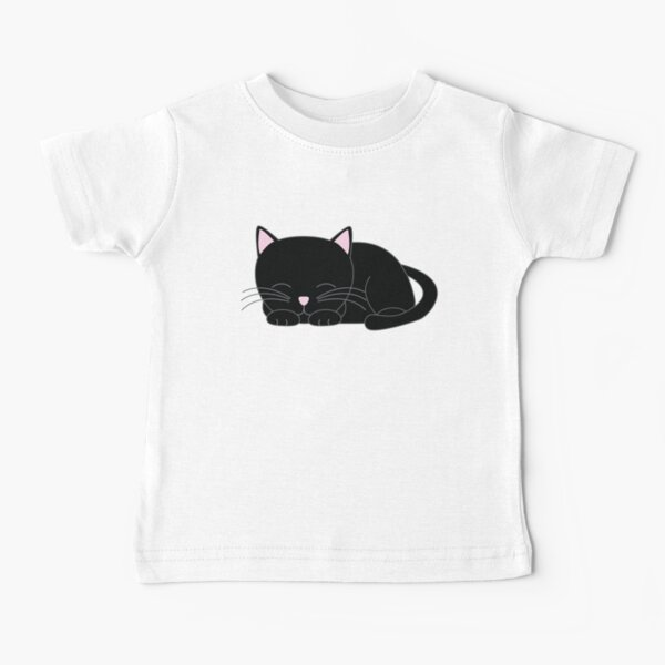 Sweet Little Black Cat Baby T-Shirt