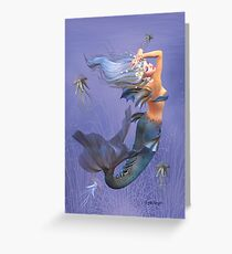 Mystic Mermaid Greeting Card