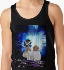 DJ EDM Earth Pope Francis The Pope is Dope! Tank Top