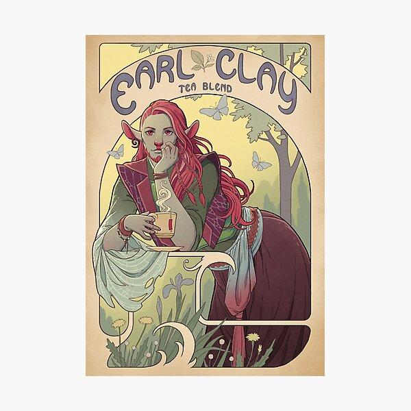 Earl Clay Photographic Print