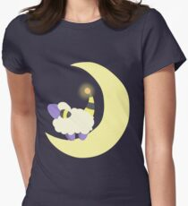 Moon Mareep Womens Fitted T-Shirt