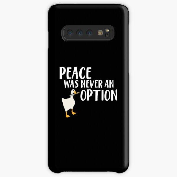 Goose Game  Wording Samsung Galaxy Snap Case