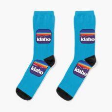 Idaho Sawtooths Socks