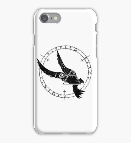 Crippled Black Phoenix 2015 A.D. (Black V.1) iPhone Case/Skin