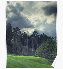 The Green at Hole #1 Poster