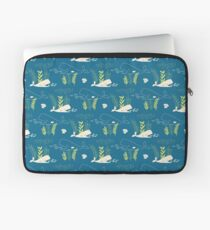 Very Hungry Whale Laptop Sleeve