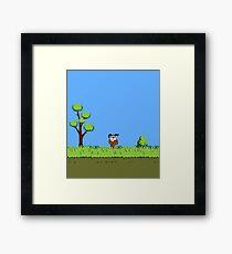 Duck Hunt Dog Framed Print