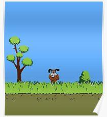 Duck Hunt Dog Poster