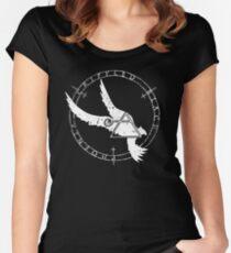 Crippled Black Phoenix 2015 A.D. (White V.1) Women's Fitted Scoop T-Shirt