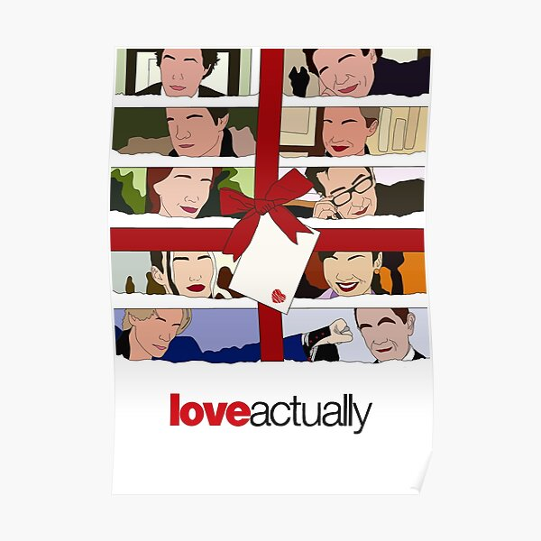 Love Actually Print Minimalist Poster
