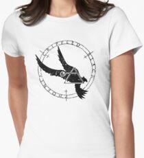 Crippled Black Phoenix 2015 A.D. (Black V.1) Womens Fitted T-Shirt