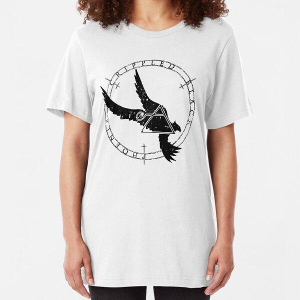 Crippled Black Phoenix 2015 A.D. (Black V.1) Slim Fit T-Shirt