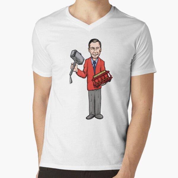 A Very Worthy Fellow V-Neck T-Shirt