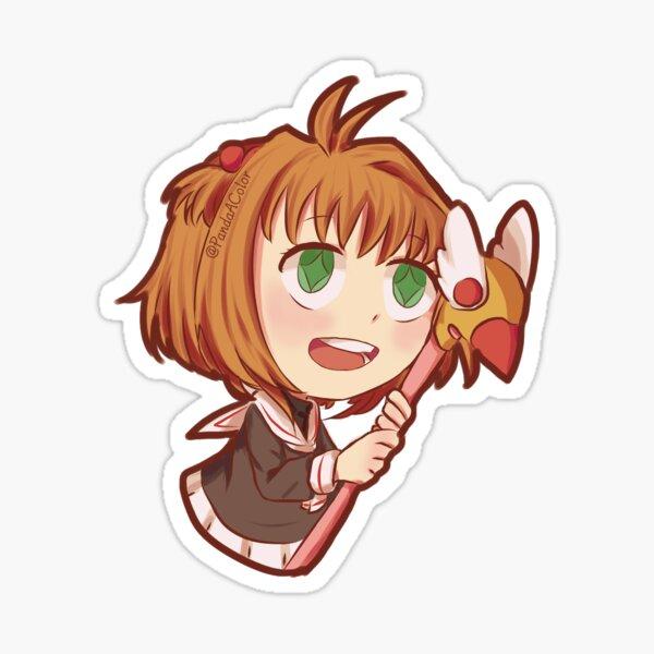 Sakura Kinomoto (Sakura Card Captor) Pegatina