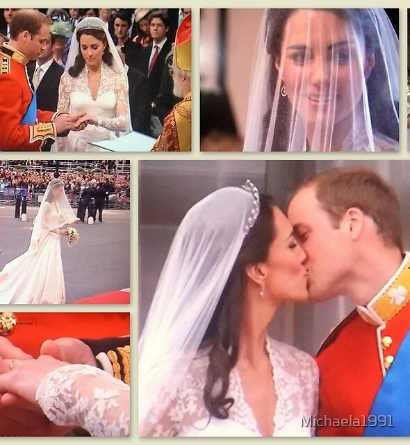 The new Duke and Duchess of Cambridge!! by Michaela1991