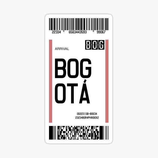 Graphik Box BOG   Colombian Destinations Series Pegatina