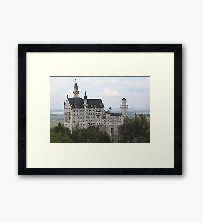 Neuschwanstein Castle, Germany Framed Print