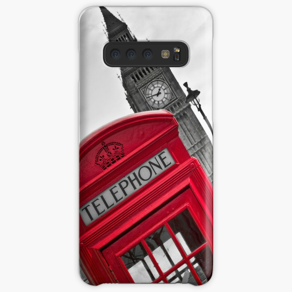 Telephone Booth in London Cases & Skins for Samsung Galaxy